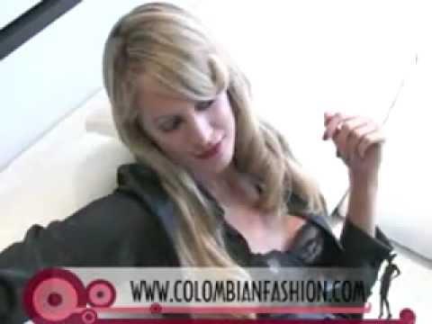Carolina Mendez con www.colombianfashion.com