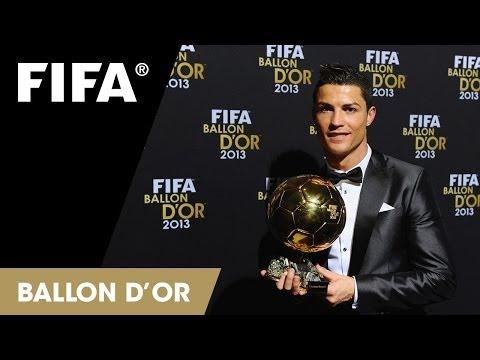 Cristiano Ronaldo: FIFA Ballon d'Or 2013