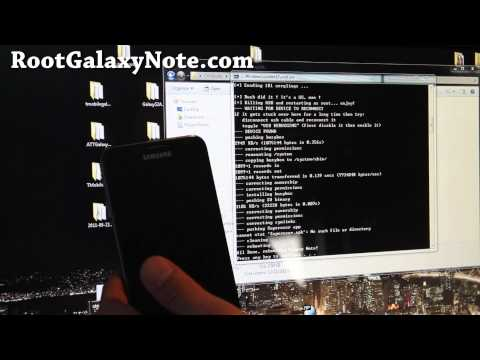 How to Root Galaxy Note! [GT-N7000][Method 1]