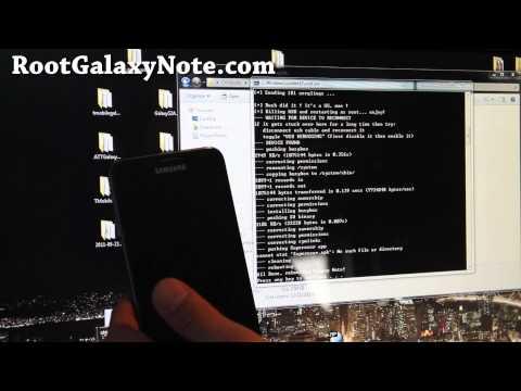 How to Root Galaxy Note! [GT-N7000][Method 1]