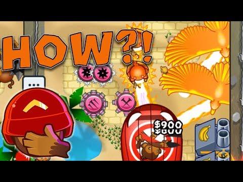 HOW did I NOT Defend that Rush?! Funny Fail vs Noob :: BTD Battles