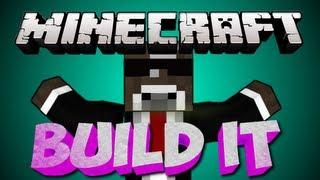 Minecraft BUILD IT (Draw My Thing) Server Minigame