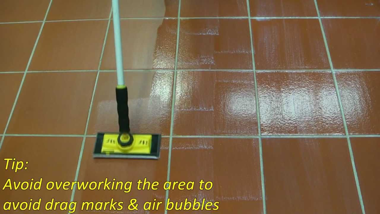 Photos Of Floor Tile Grout Sealer