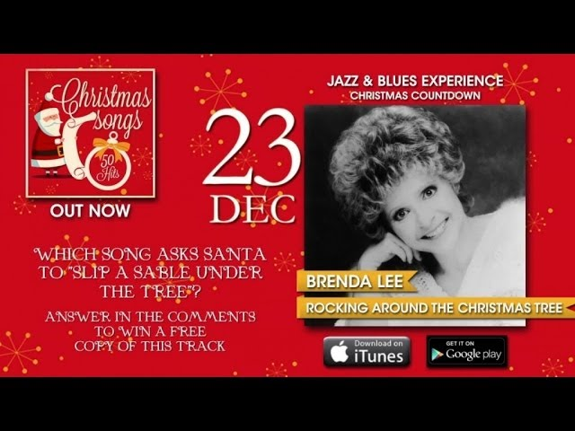 Christmas Songs - Advent Calendar - 23rd December (Brenda Lee)