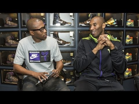 Interview: @KobeBryant on Retros, Kobe 9 Elites, and Returning to the NBA