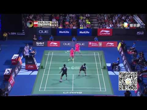 羽毛球男双十大经典瞬间(The men's doubles ten classic moments)