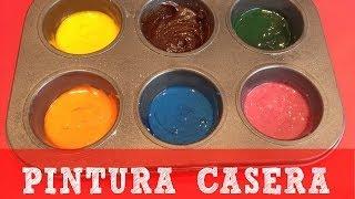 Fácil y económica pintura casera para niños