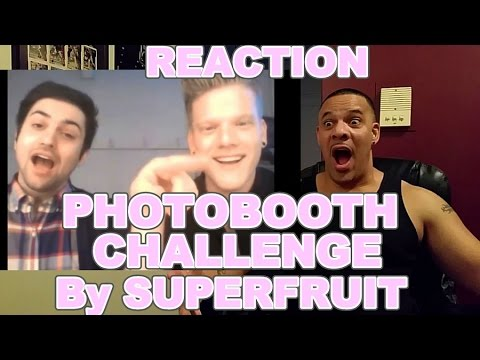 SUPERFRUIT PhotoBooth Challenge REACTION [PART 1]