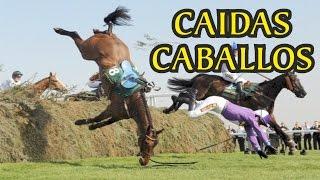 Caidas graciosas de caballos