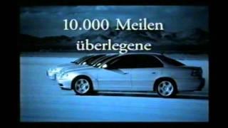 Opel Omega Werbung 1999