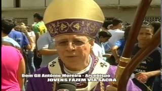 Jovens fazem Via Sacra e pedem paz - Alterosa em Alerta 02/03/15