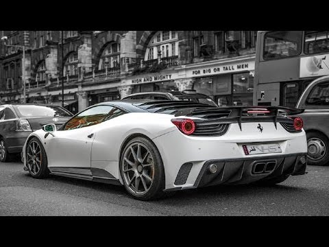 Mansory 'Siracusa' Ferrari 458 Driving in London