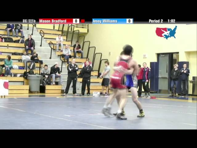 GR 60 KG - Gold - Mason Bradford (USOEC) vs. Jessy Williams (NYAC)