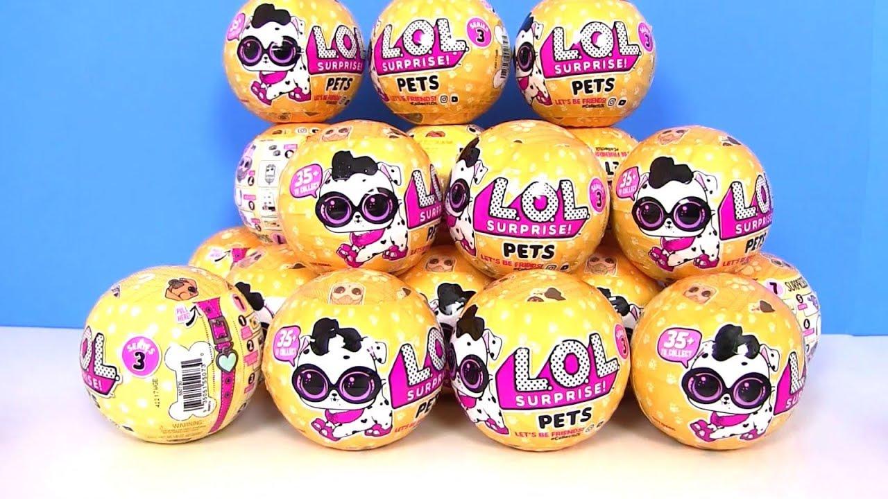 Купить мини-куклы L. O. L, куклы в мяче для детей и др