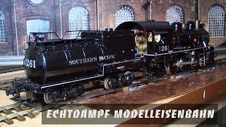 Echtdampf Modelleisenbahn in Spur 1