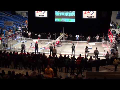 2014 FRC Silicon Valley Regional Qualification Match 2