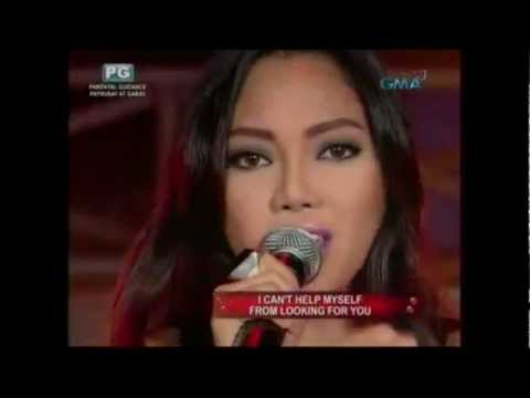 La Diva (Jonalyn, Aicelle, Maricris) - Set Fire To The Rain - 26 Feb 2012