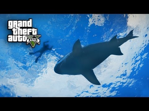 tutorial: GTA5:  Going To The End Of The World And Shark Attack    (Funny Times In Free-Roam Ep.6)
