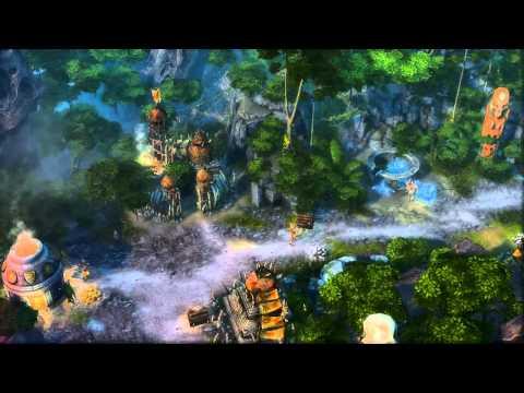 Видео о ландшафтах игры и пачка арта