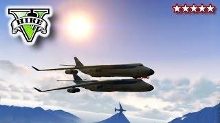 GTA 5 CARGO PLANE STUNTS!!! GTA, Blimps & Cargo Plane