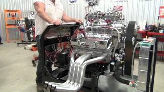 Keith Mowerys supercharged 350, dyers 6-71