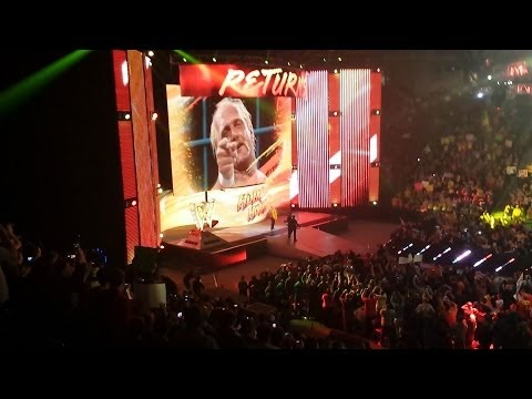 Hulk Hogan Returns to WWE! 2/24/14