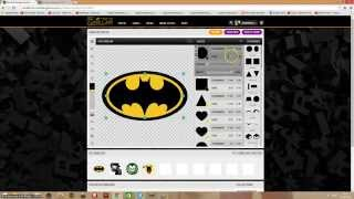 Batman Logo (CREW EMBLEM GTA 5 ONLINE TUTORIAL)