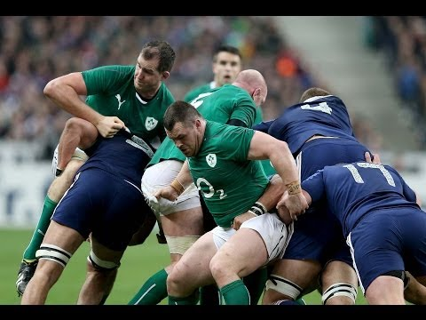 Impressive Ireland hold out to win RBS 6 Nations 2014 - France v Ireland 15th March 2014