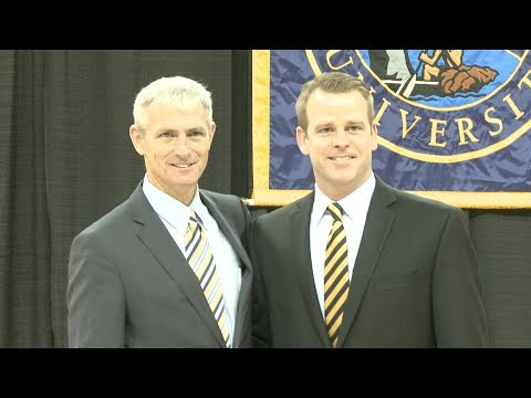 Steve Wojciechowski introduced as MUBB head coach