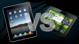 BlackBerry PlayBook ve iPad karşılaşırma