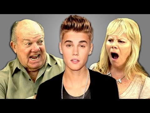 ELDERS REACT TO JUSTIN BIEBER
