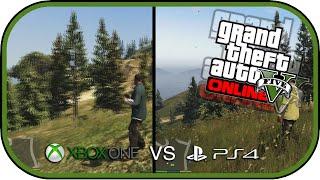 GTA 5 Xbox One Vs PS4 Graphics Comparison [1080p