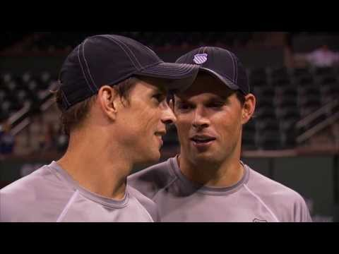 BNP Paribas Open: Bryan Brothers on 'Finally' Winning in Indian Wells