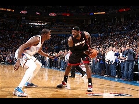 LeBron James Stampedes the Thunder in OKC