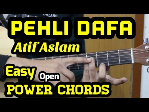 youtube video Pehli Dafa Guitar Chords Lesson | Atif Aslam | Ileana | Power Chords | Tab | Cover | For Beginners to 3GP conversion