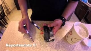 Como reparar un Iphone mojado
