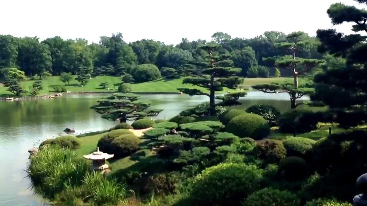 Japanese Garden Chicago Botanic Garden Youtube