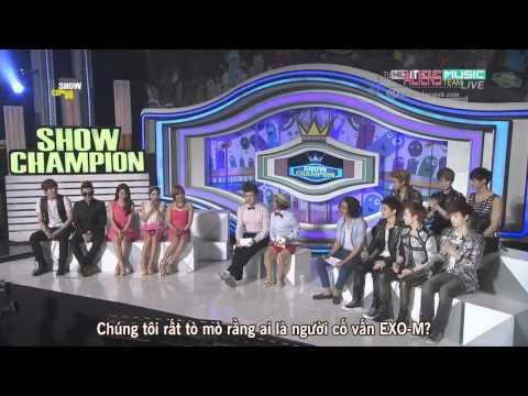 [Vietsub] [120515] EXO-M - Interview + Ending ( Show Champion ) { T.A.T }