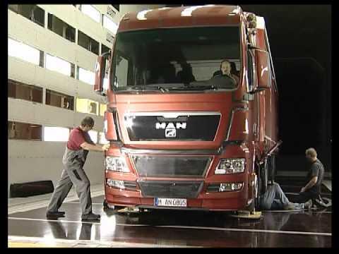MAN TGX Truck Wind Tunnel