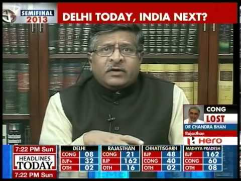 Ravi Shankar Prasad talks about the Modi effect