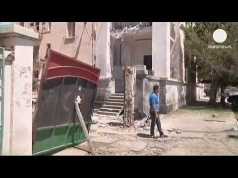 Libya  police stations bombed in Benghazi
