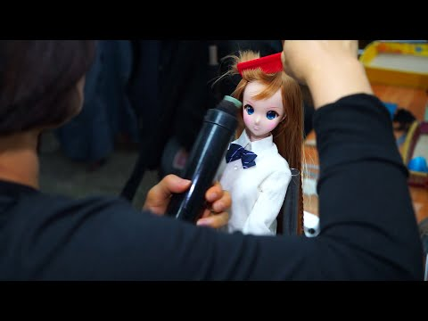 How Smart Doll BJD wigs are made