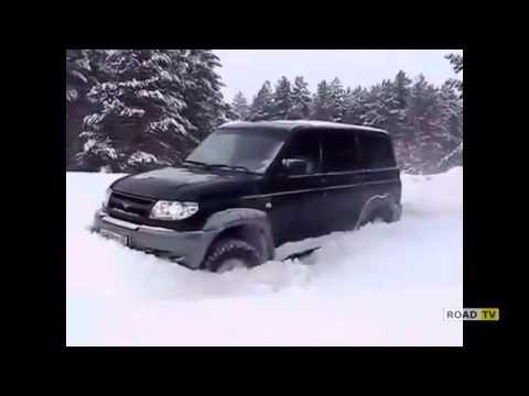 Тест-драйв внедорожника УАЗ Патриот