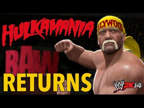 WWE 2K14 Old School RAW Hulk Hogan Returns 06/01/2014