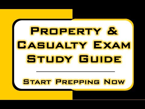 Property And Casualty License Texas Test