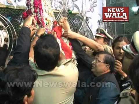 Commissioner of Police Mahender Reddy IPS visited Bibi Ka Alawa during Moharram 2014