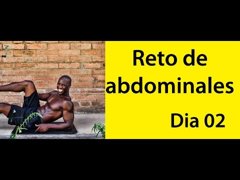 ABDOMINALES EN 30 DIAS.( RETO DIA 02)