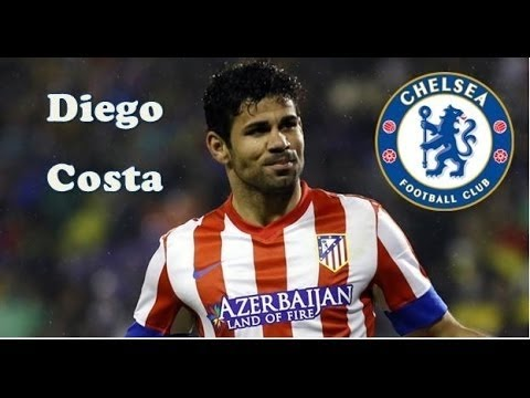 The blue tiger is Coming - Diego Costa welcome to Chelsea FC