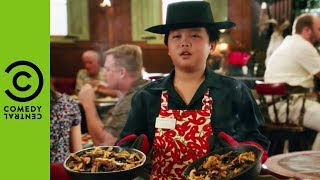 Eddie's First Ever Job | Fresh Off The Boat