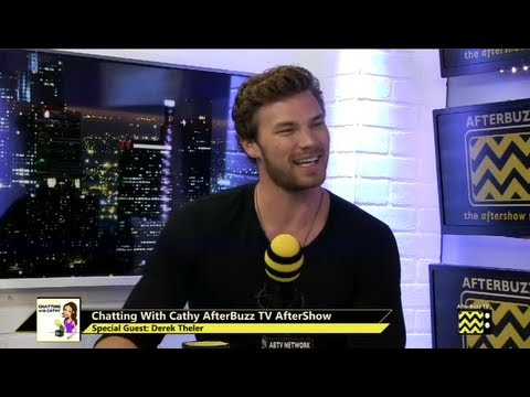 Derek Theler Interview | AfterBuzz TV's Chatting with Cathy | September 4th, 2013